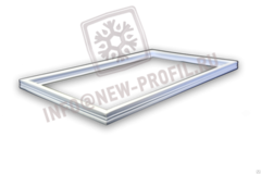 Уплотнитель 148*58см для холодильника Mistral / Мистраль. Профиль 013/012