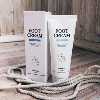 Крем для ног смягчающий Nanamus Foot Cream