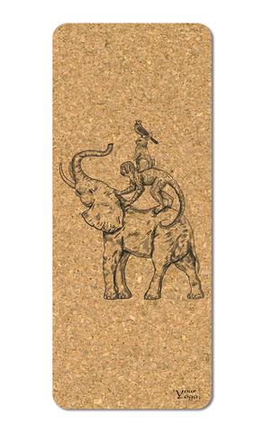 Пробковый коврик для йоги Tunshi 178*61*0,3 см