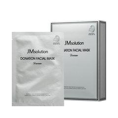 JMsolution Маска для лица с комплексом гиалуроновых кислот и пептидов JMsolution Donation Facial Mask Dream 30 мл.