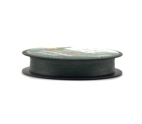 Плетеная леска Spiderwire Dura4 Braid Темно-зеленая 150 м. 0,14 мм. 11,8 кг. Mgrn