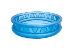 Бассейн надувной детский INTEX голубой Геометрия диаметр 188 см 58431NP