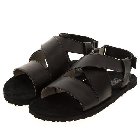 578157 сандалии мужские черные. КупиРазмер — обувь больших размеров марки Делфино
