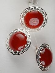Савойя (кольцо + серьги из серебра)