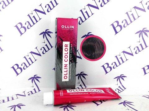 OLLIN COLOR  5/22 светлый шатен фиолетовый 60мл Перманентная крем-краска для волос