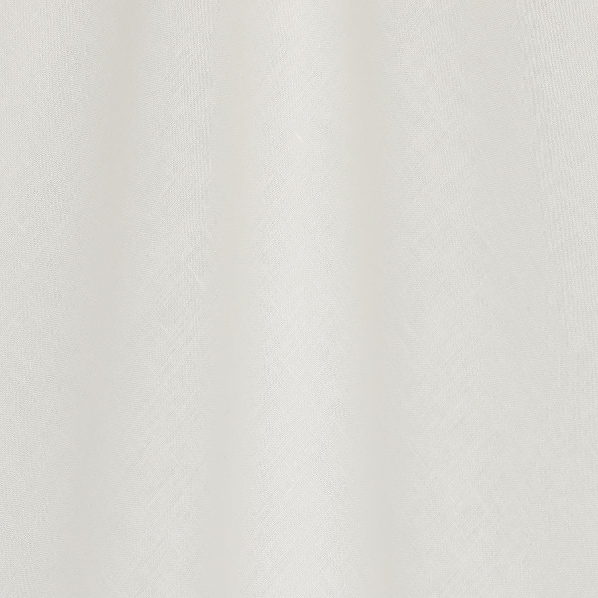 Льняное разреженное полотно молочного цвета