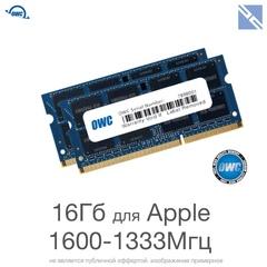 Комплект модулей памяти OWC 16GB для Apple 2011-2015 iMac, mac mini, macbook (2x 8GB) 1600MHZ DDR3L SO-DIMM PC3-12800