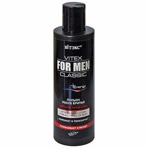 Лосьон после бритья для всех типов кожи , 200 мл ( Vitex For Men Сlassic )