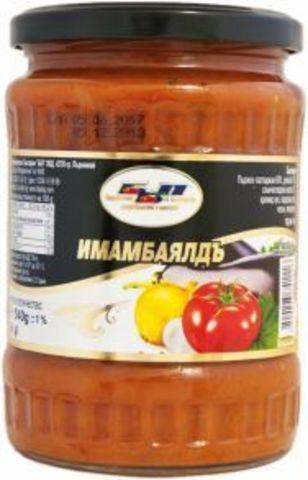 Имамбаялды (баклажаны в томатном соусе), 540 гр.