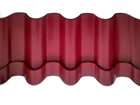 Металлочерепица Андалузия Полиэстер RAL 3005