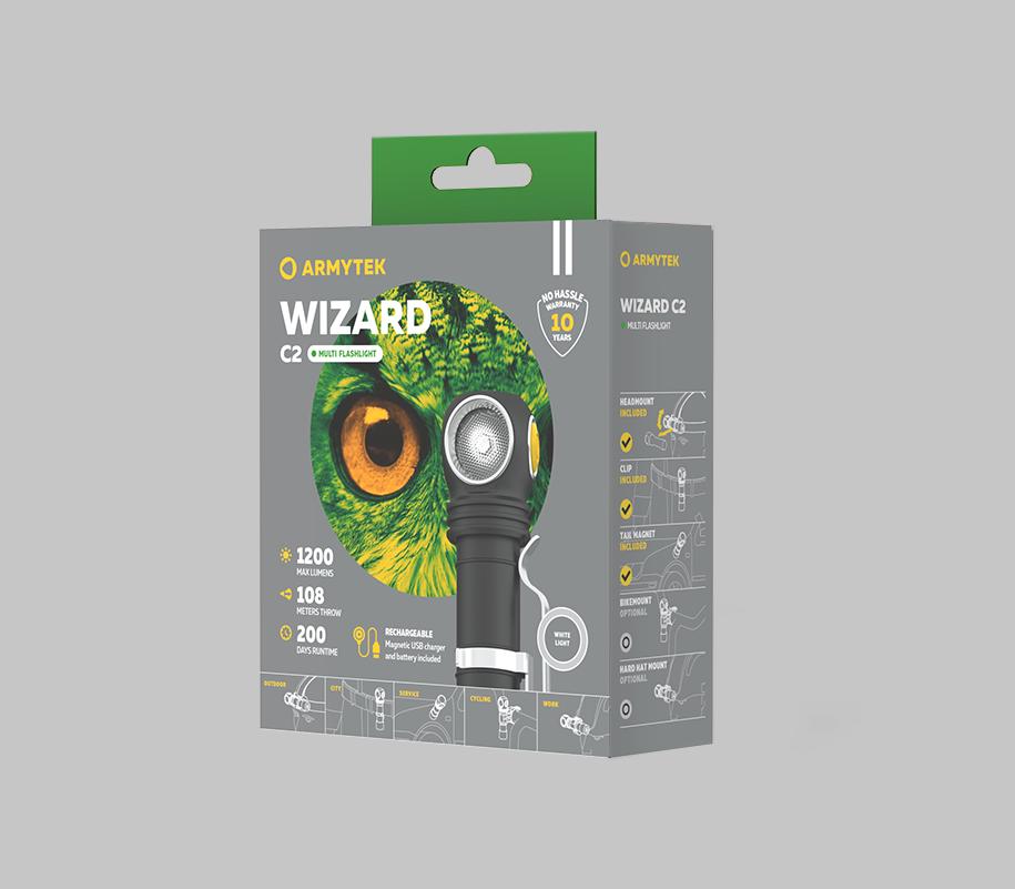 Мультифонарь Armytek Wizard C2 Magnet USB - фото 6