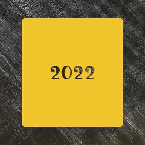 Трафарет Новый год 2022 №7