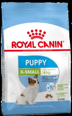 X-Small Puppy - для щенков миниатюрных размеров от 2 до 10 месяцев