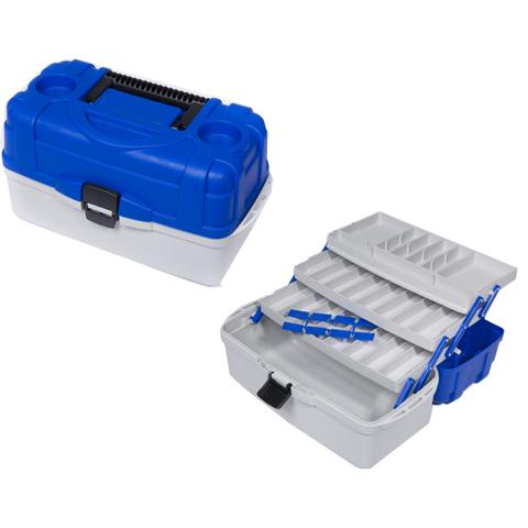 Ящик рыболовный пластиковый Salmo 3х полочный