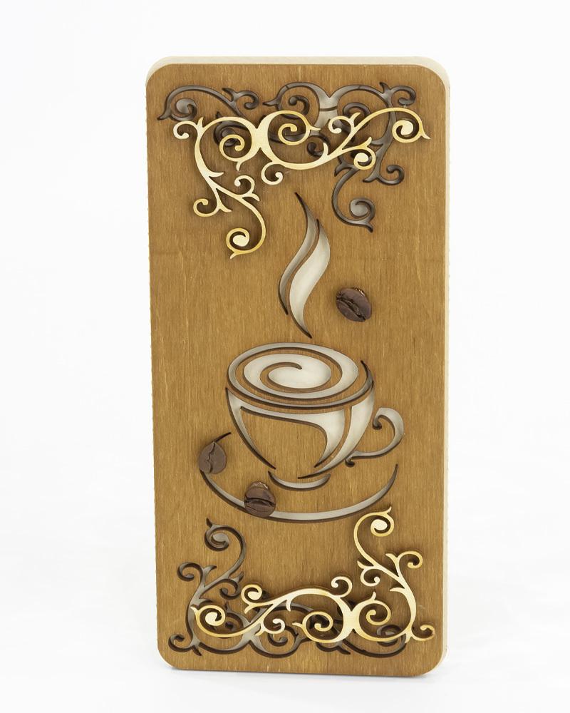 Открытка с Чашкой Кофе