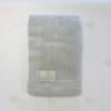 Вязаный плед из шерсти мериноса светло-серый