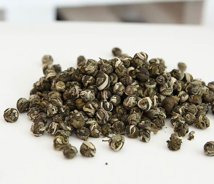 TEA-CH126 Китайский чай «Жасминовые Жемчужины Дракона» (Моли Лун Чжу, 50 гр) фото 02