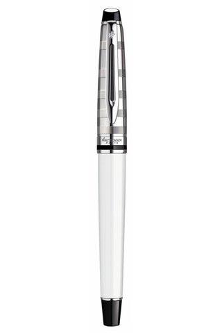 Перьевая ручка Waterman Expert 3 DeLuxe, цвет: White CT, перо: F123
