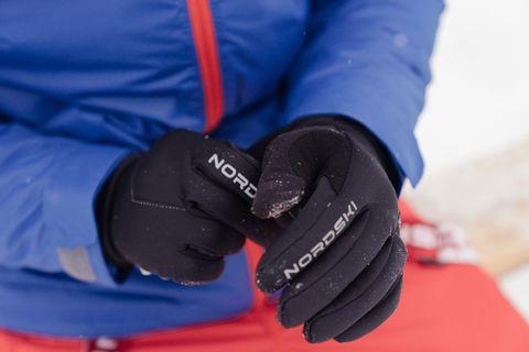 Лыжные перчатки Nordski Jr.Motion Black WS детские