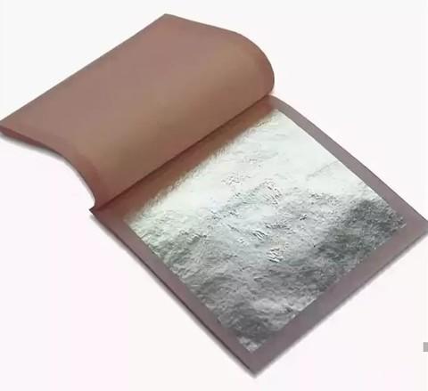 Серебро пищевое в листах (1л)