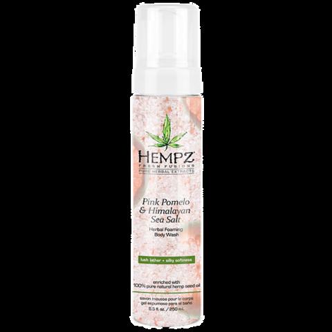 Гель-мусс для душа Помело и Гималайская соль / Hempz Pink Pomelo & Himalayan Sea Salt Herbal Foaming Body Wash
