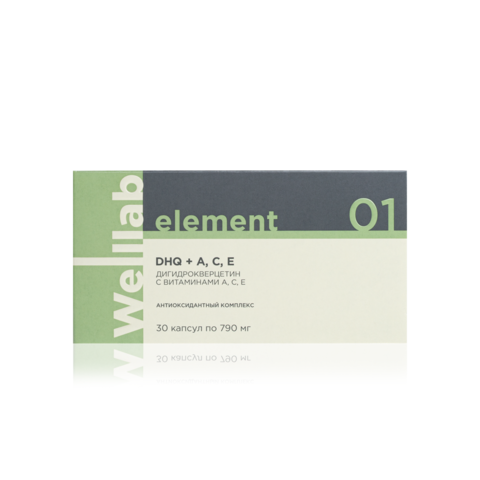 Welllab Element Dihydroquercetin with A, C, E, 30 капсул WELLLAB ELEMENT