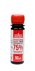 Удобрение АГРОМЕРА ортофосфорная кислота 75%, 50 мл