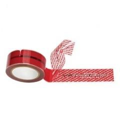 Скотч клейкая лента защита от вскрытия красная 50ммх50м