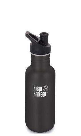 Бутылка Klean Kanteen Classic Sport 18oz (532 мл) Shale Black