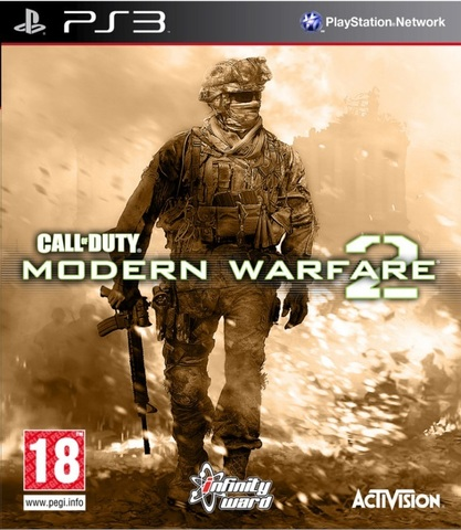 Call of Duty: Modern Warfare 2 (PS3, английская версия)