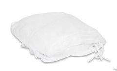 Чехол на кушетку с завязками из нетканного материала белый 200*90 см