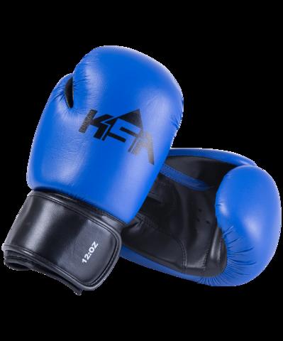 Перчатки боксерские Spider синие
