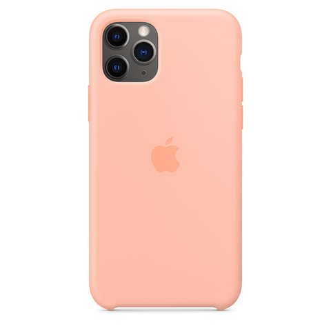 Чехол IP11 PRO MAX Silicone Case Grapefruit