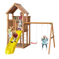 Детская площадка Jungle Palace + Swing Module Xtra