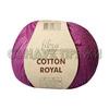Пряжа Fibranatura Cotton Royal 18-728 (Малиновый)