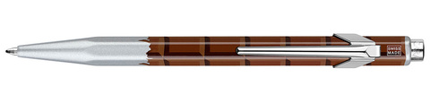 Carandache Office Essentialy Swiss - Chocolate, шариковая ручка, M, металлическая коробка