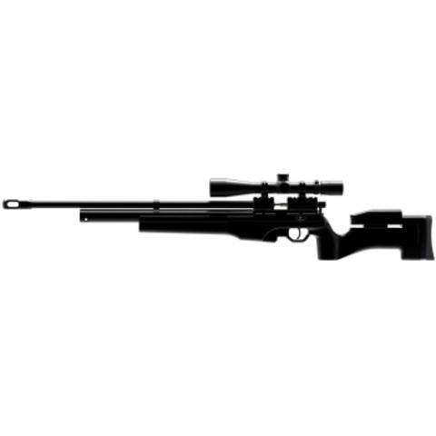 Пневматическая винтовка Ataman M2R Тактик Тип I 5,5 мм (Чёрный) (225)