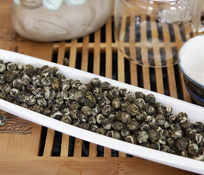 TEA-CH126 Китайский чай «Жасминовые Жемчужины Дракона» (Моли Лун Чжу, 50 гр) фото 03