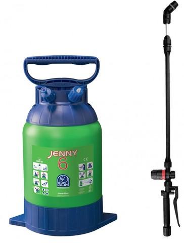 Ручной помповый опрыскиватель JENNY 6 литров  DiMartino