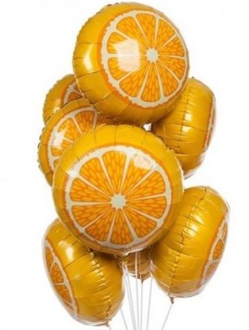 Шар в виде дольки апельсина 46 см