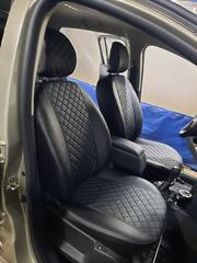 Чехлы на Renault Logan II / Logan II Stepway 2014–2021 г.в.