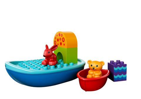 LEGO Duplo: Лодочка для малышей 10567 — Toddler Build and Boat Fun — Лего Дупло