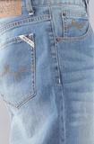 Джинсы широкие синие LRG фото 4