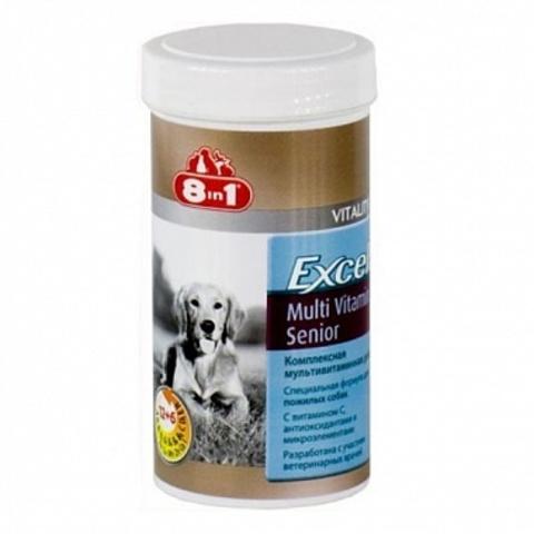 8 in 1 EXCEL витамины Senior Multi Vitamin для стареющих собак   70 таблеток