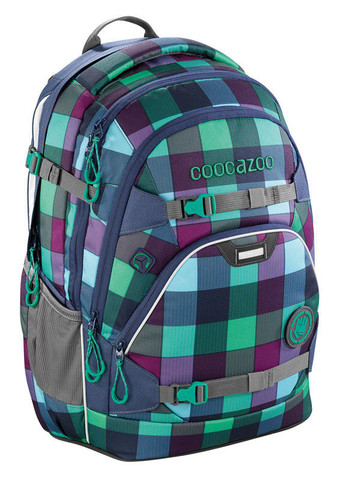 Рюкзак Coocazoo ScaleRale Green Purple District синий/бирюзовый