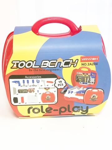 Чемодан с инструментами 19 предметов (Tool Bench)