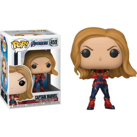 Фигурка Funko Pop! Marvel: Avengers: Endgame - Captain Marvel