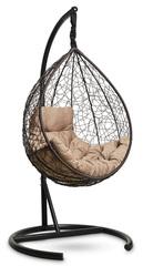 Подвесное кресло-кокон SEVILLA COMFORT (коричневое)