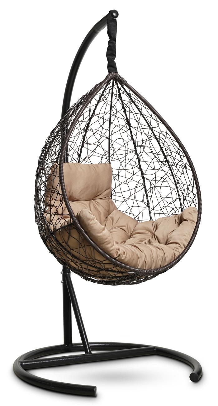 Подвесные кресла Подвесное кресло-кокон SEVILLA COMFORT (коричневое) podvesnoe-kreslo-kokon-sevilla-comfort-korichnevoe-1.jpg