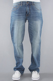 Джинсы широкие синие LRG фото 1